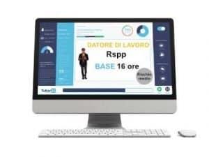 Corso online RSPP DL Formazione Base Rischio Medio 16 ore