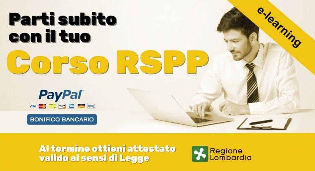 Corso Rspp online