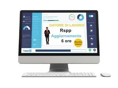 Corso online RSPP DL Aggiornamento Rischio Basso 6 ore