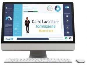 Corso online Lavoratore Base Formazione Completa Rischio Basso 8 ore