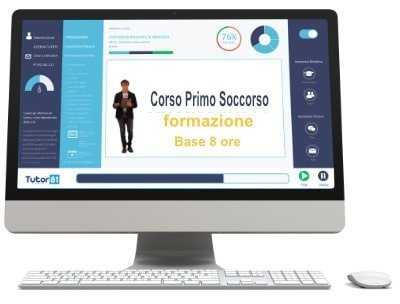 Corso online Primo Soccorso Formazione Base 8 ore